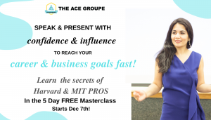 Free Workshop Series: Speak & Present with Confidence and Influence @ Virtual via Zoom